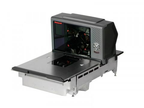 Stratos 2753 - Einbau-Barcodescanner, 2D, Saphirglas, Display, EAS, Edelstahl, RS232, USB, IBM, lange Platte