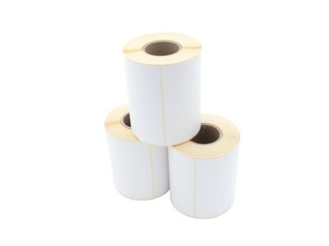 Etikettenrolle - Thermotransfer, 104 x 150mm, D90mm, Kern 40, 250 Etiketten/Rolle, permanent