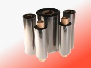 Farbband - Wachs, hellrot, 300m x 60mm, 1 Zoll-Kern, Aussenwicklung