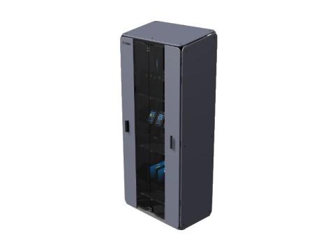Cabinet Large - 3 Regale für bis zu 20 Geräte, Schloss mit 2 Schlüsseln