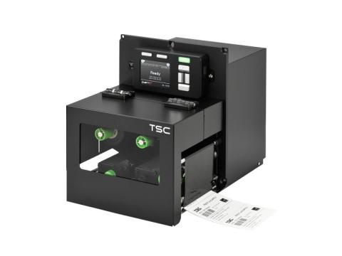 PEX-1260 - Stationäres Etikettendruck-Modul, thermotransfer, 600dpi, Druckgeschwindigkeit 152mm/Sek., USB + RS232 + Ethernet, rechte Hand