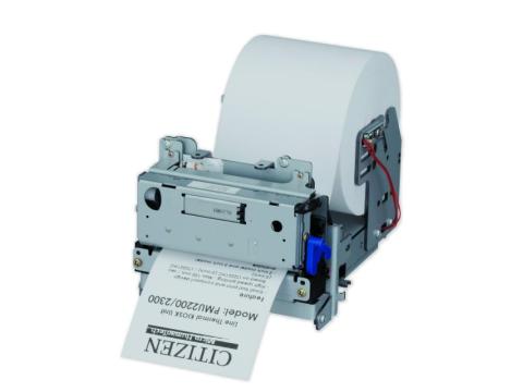 PMU2300 III - Einbau-/Kioskdrucker, Thermodirekt, 80mm, Frontblende, 24V, RS232