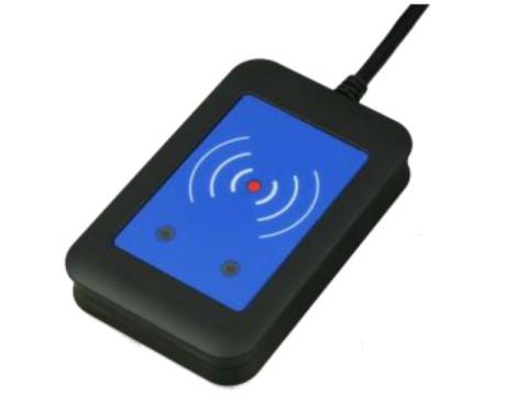 TWN4 - MIFARE® NFC Desktop-Leser(RFID), RS232, schwarz