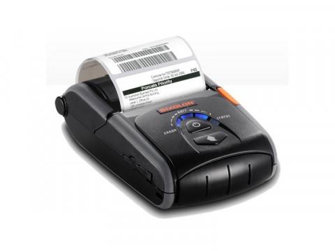 SPP-R210 - Mobiler Thermodirekt-Bondrucker, USB + RS232 + Bluetooth, schwarz