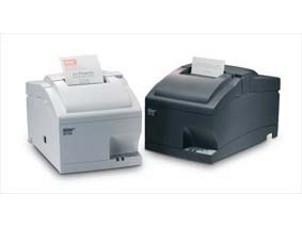 SP742R - Bon-Nadel-Drucker, *ohne Schnittstelle*, dunkelgrau, mit Cutter und Aufwickler