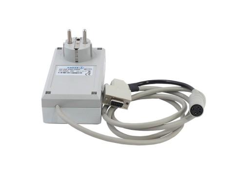 PC-Cashcontrol zur Steuerung von Geldkassetten und Geldschubladen vom PC über RS232 9-polig mit Stromversorgung und Demo-Software
