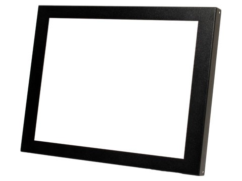 Frontblende, schwarz für Open Frame OF-1900