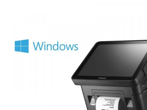 DCR Touchsystem mit Bondrucker, schwarz + Microsoft Windows 10 IoT Enterprise 2019 LTSC Entry