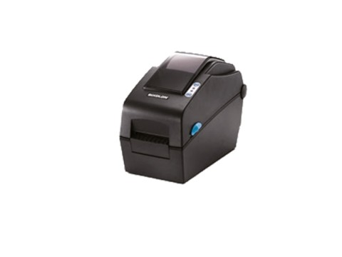 SLP-DX223 - Etikettendrucker, thermodirekt, 300dpi, Druckbreite 56.9mm, USB + RS232, Peeler, dunkelgrau