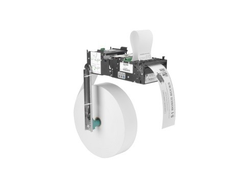 KR203 - Einbau-Kiosk-Drucker, thermodirekt, USB, 203dpi, Abschneider