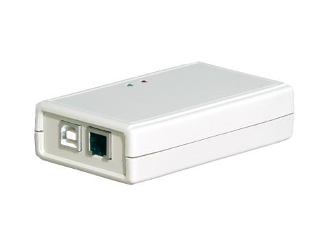 CU-524 - v2.0 Kassenladenöffner - USB-Dekoder - mit Statusanzeige - RJ12 (Epsonanschluss) inkl. USB Kabel