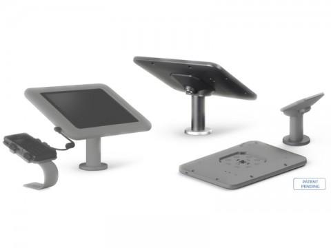 Dock & Charge - Bodenständer mit Ladestation für Samsung, schwarz