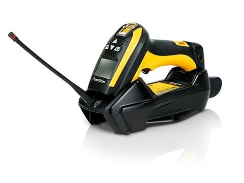 PowerScan PM9500 2D-Imager High Performance und Display mit 4 Tasten, RS-232, 433 MHz, inkl. Cradle, Daten-Kabel und Netzteil mit Netzkabel