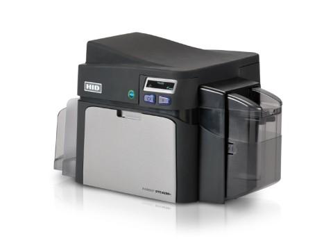 DTC4250e - Beidseitiger Farbkartendrucker, USB + LAN