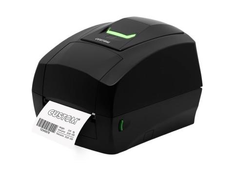 D4-102 - Etikettendrucker, Thermotransfer, 203dpi, USB, schwarz