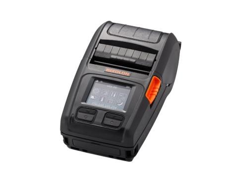 XM7-20 - Mobiler Etikettendrucker, 58mm, USB + RS232 + Bluetooth (iOS) + WLAN, Linerless, schwarz