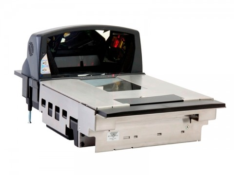Stratos 2422 - Einbau-Barcodescanner, 1D, Laser, Edelstahl, RS232-KIT, Saphirglas (353mm)
