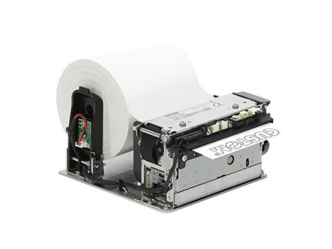 Modus 3 - Einbaudrucker mit Abschneider (Teilschnitt), thermodirekt, 82.5mm, 200mm/Sek., 203dpi, USB + RS232
