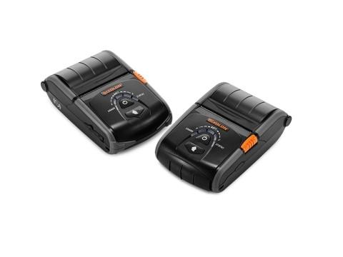 SPP-R200IIIPLUS - Mobiler Thermodirekt-Bondrucker, USB + RS232 + Bluetooth (auch für iOS-Geräte), schwarz