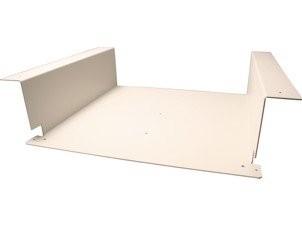 Unterbauvorrichtung / Untertischhalterung, weiss für Concept Style E