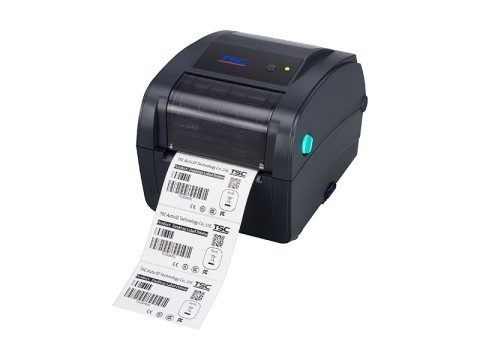 TC200 - Etikettendrucker, thermotransfer, 203dpi, USB + RS232 + Parallel + Ethernet, dunkelblau