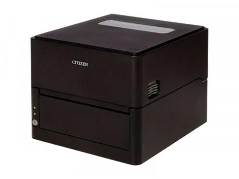 CL-E303 - Etikettendrucker mit Hochleistungs-Abschneider, thermodirekt, 300dpi, USB + RS232 + LAN, schwarz