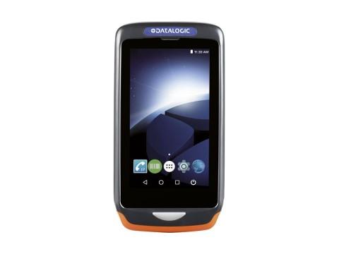 Joya Touch A6 Handheld - Mobiler Computer mit rotem 2D-Imager, Android 7.1 Nougat, dunkelgrau-orange