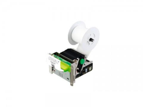 TG1260H - Kioskeinbaudrucker, thermodirekt, USB, mit Cutter, inkl. Mundstück