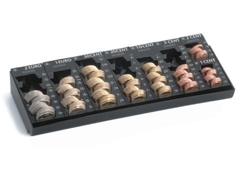Kasseneinsatz - 7000 RE mit 7 herausnehmbaren Einzelmünzbehältern