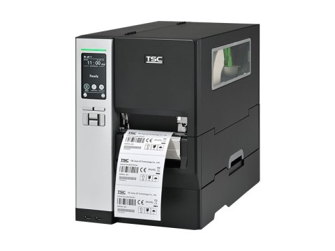 MH340T - Etikettendrucker, thermotransfer, 300dpi, USB + RS232 + Ethernet, LCD und Touchscreen