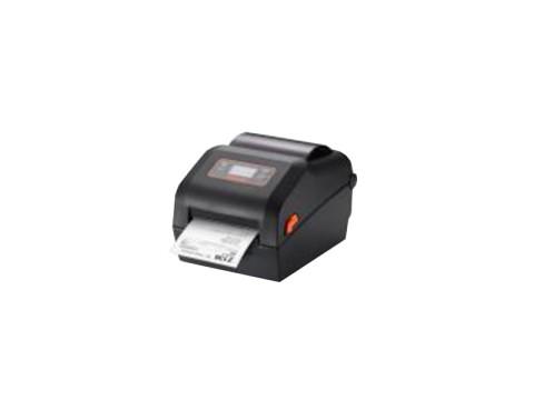 XD5-43d - Etikettendrucker, thermodirekt, 300dpi, LCD-Display, USB + USB Host + RS232 + Ethernet, schwarz