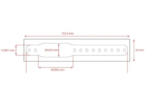 Infasafe-LCB-Red - Clip-(Schnellverschluss)Armbänder für Kinder, rot
