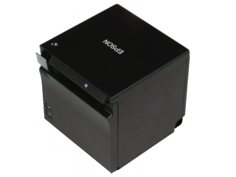 TM-m30IIF - Bon-Thermodrucker, 80mm, Fiscal DE Zertifikatslaufzeit 5 Jahre, USB + Ethernet + WLAN, schwarz