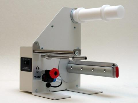 LD-200-RS Preset - automatischer Etikettenspender, Etikettenlänge 6-150mm, mit voreinstellbarem Zähler,