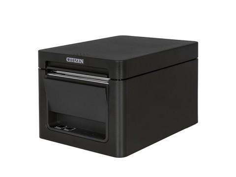 CT-E351 - Bondrucker, thermodirekt, 80mm, Frontausgabe, 203 dpi, USB + RS232, schwarz