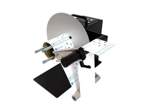 UNI-CAT-ACH - Externer Etiketten-Ab-/-Aufwickler, Rollendurchmesser 280mm, Etikettenbreite 155mm, einstellbarer Kernhalter (25-101mm)