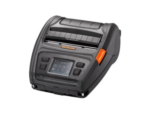 XM7-40 - Mobiler Etikettendrucker, 112mm, USB + RS232 + Bluetooth (iOS) + WLAN, Linerless, schwarz